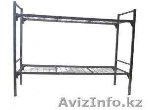 Кровати железные для казарм, кровати для строителей, кровати металлические оптом - Изображение #4, Объявление #1425094