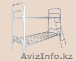 Кровати железные для казарм, кровати для строителей, кровати металлические оптом - Изображение #1, Объявление #1425094