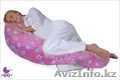 Подушка для беременных Цветы на розовом